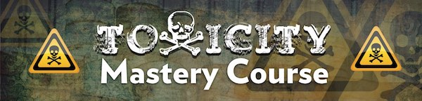 toxicity mastery course logo image